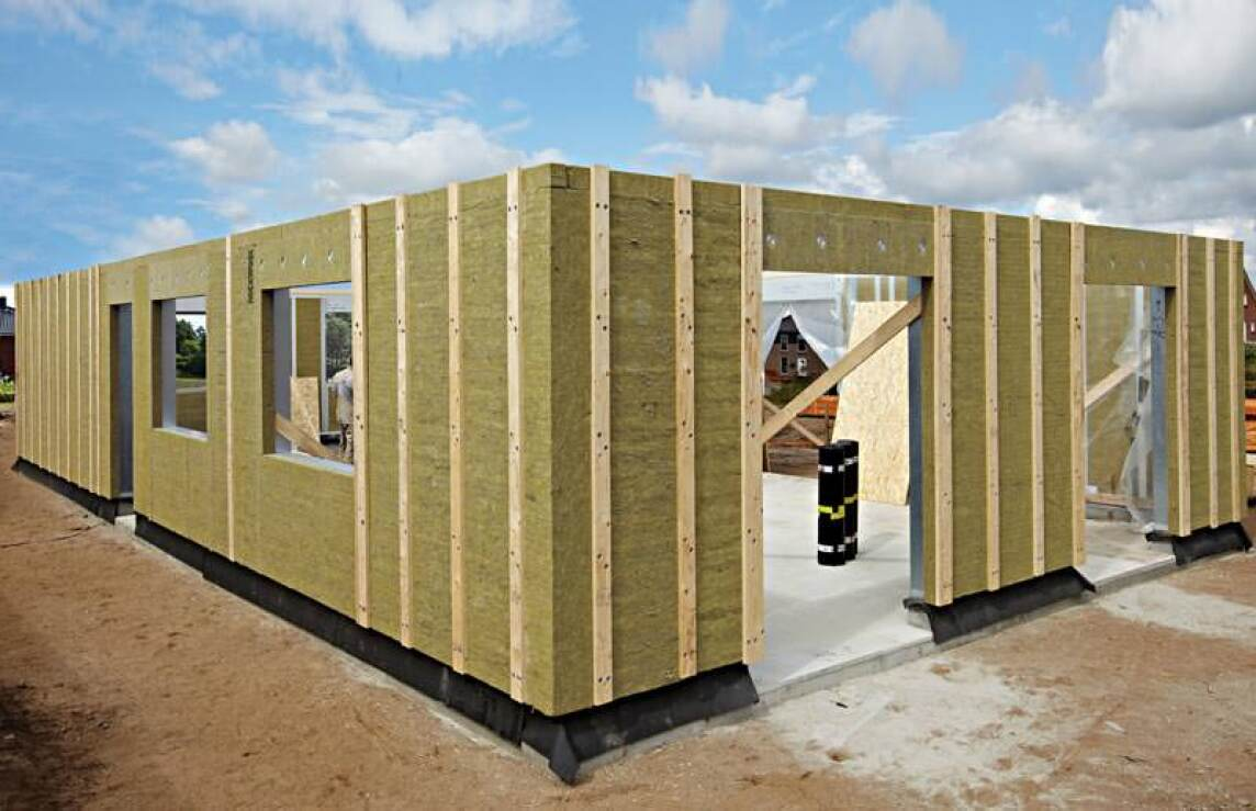 Passivhaus wandaufbau  Passivhaus schnell und trocken gebaut mit