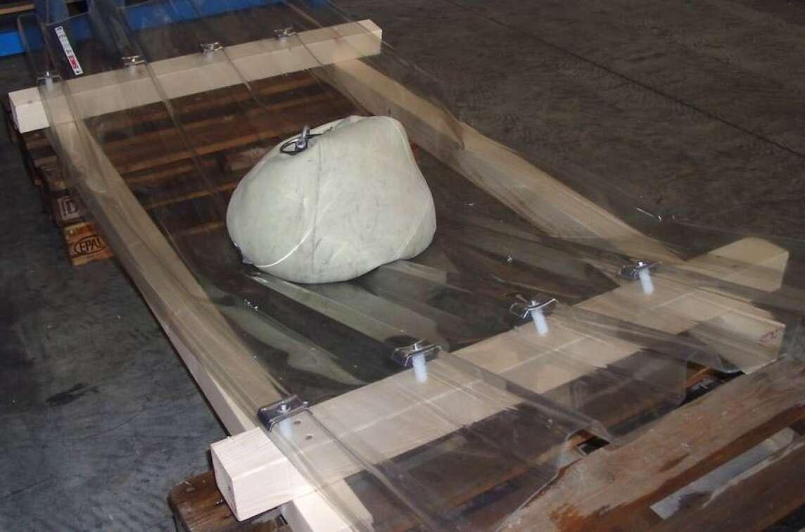 Pvc Licht Und Bauplatten Gepruft Auf Durchsturzsicherheit