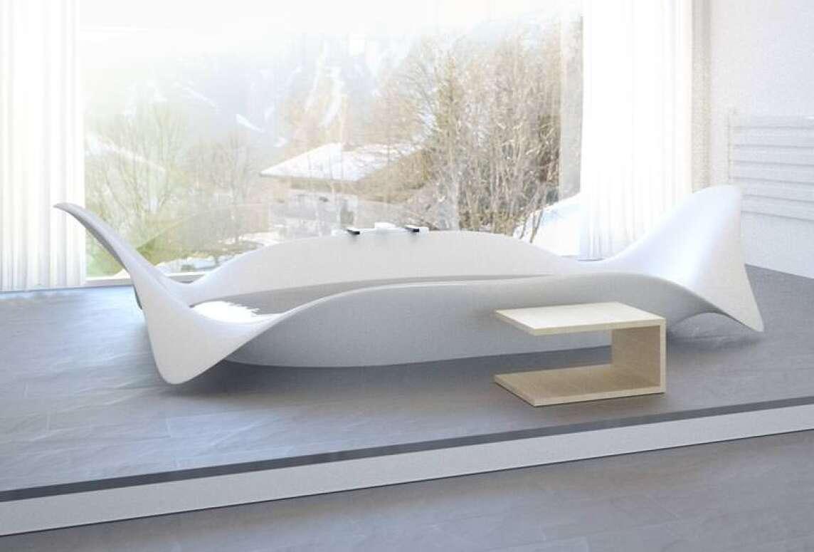 Neue Badewannen Designs Von Bagno Sasso Mit Wings Und Waves