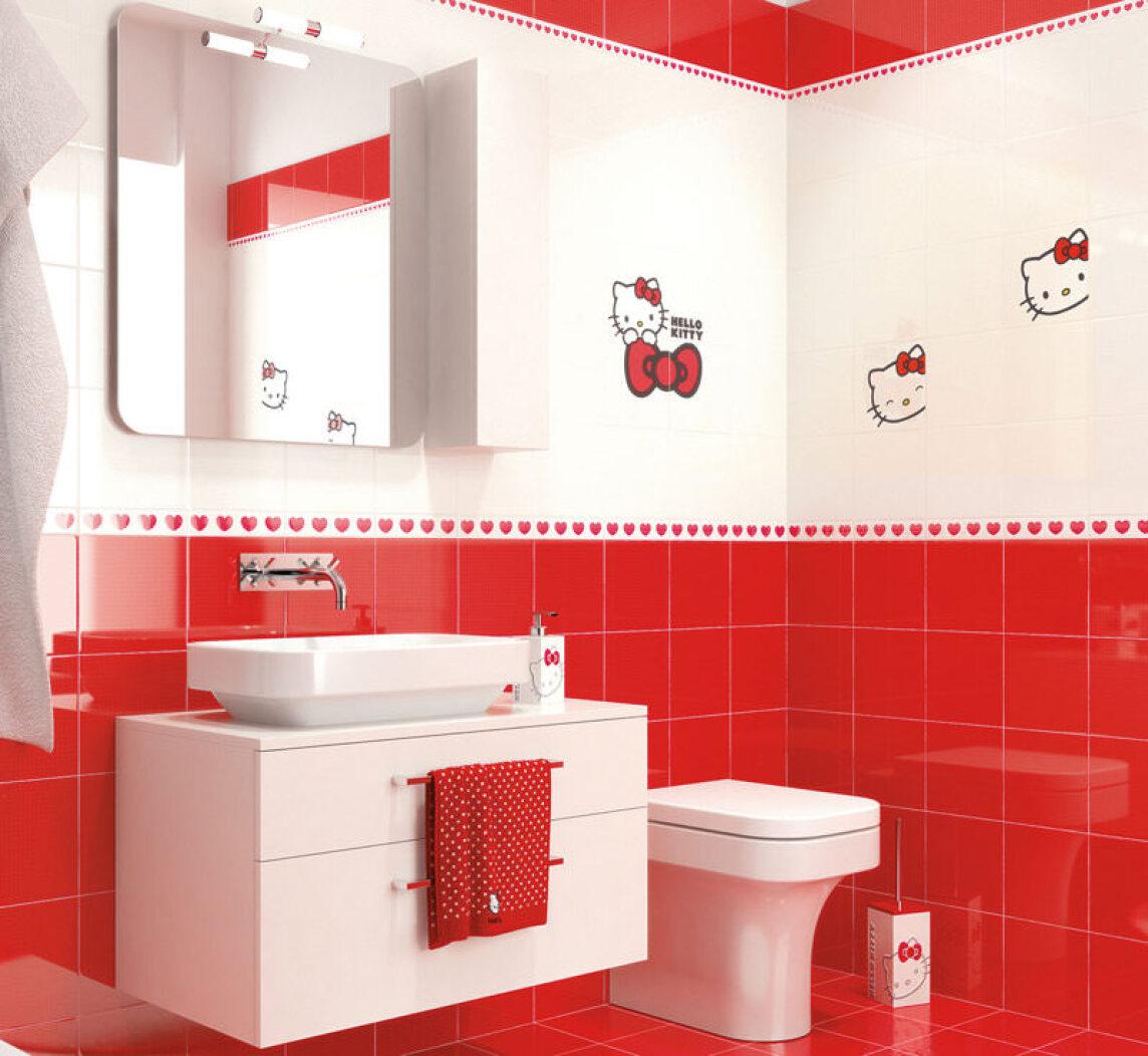 Hello Kitty Küche | Exklusiver Vertrieb Von Hello Kitty Fliesen Durch Sgbdd