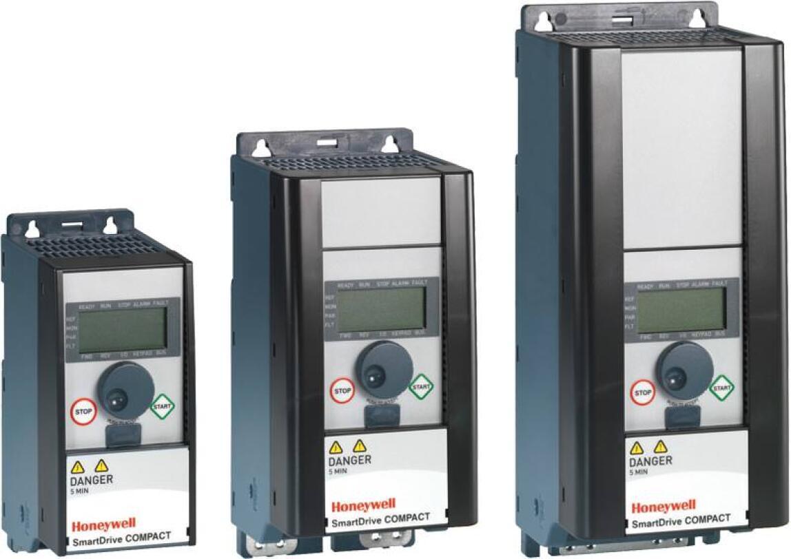 SmartDrive Compact: Drei Mikro-Frequenzumformer speziell für HLK-Systeme