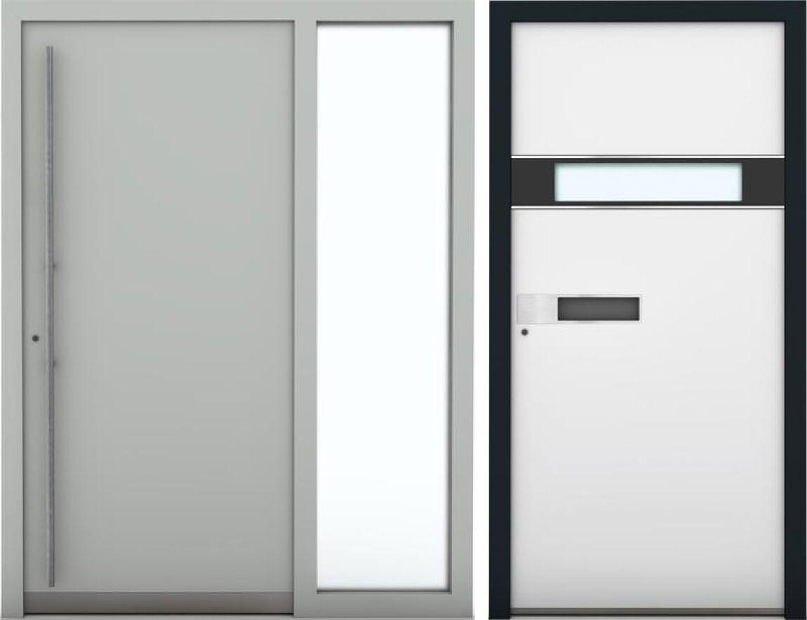 neue hoch w rmed mmende design alu haust r von internorm. Black Bedroom Furniture Sets. Home Design Ideas