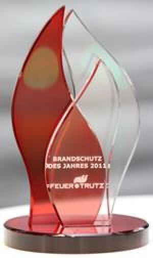 Pokal Brandschutz des Jahres 2011