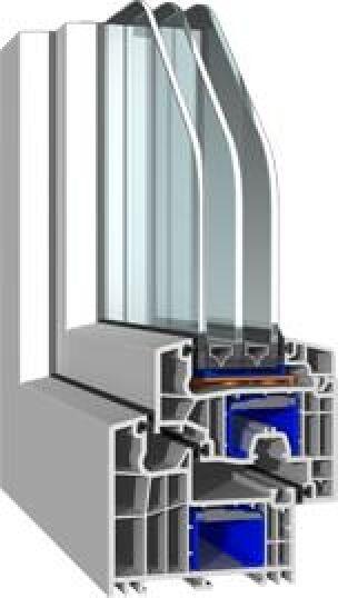 bluEvolution-Fensterprofil von Salamander
