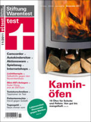 Test von Kaminöfen und Pelletöfen: Stiftung Warentest hat moderne Feuerstätten / Holzöfen getestet.