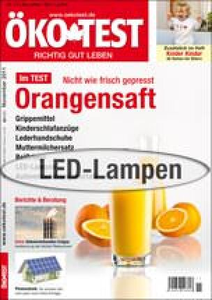 ÖKO-TEST LED-Lampen