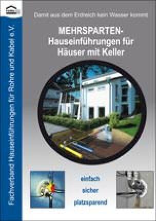 Hauseinführungskonzepten für Gebäude mit und ohne Keller