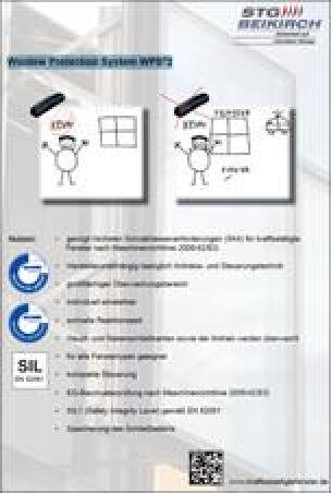 kraftbetätigte Fenstern nach Maschinenrichtlinie