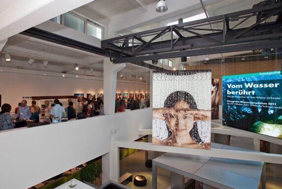 2011 stand das Wassersymposium unter dem Titel 'Vom Wasser berührt'.