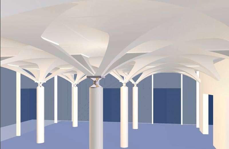 Gewölbesysteme aus 3D-Formteilen