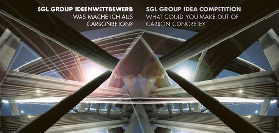 Ideenwettbewerb der SGL Group zu neuem Verbundwerkstoff Carbocrete: Was mache ich aus Carbonbeton?