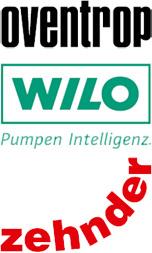 Zehnder, Oventrop und Wilo