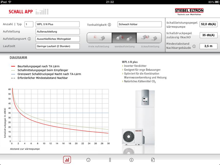 Screenshots von der iPad-Version