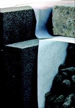 Bodenplatten-Randschalung aus Glasschaumplatten