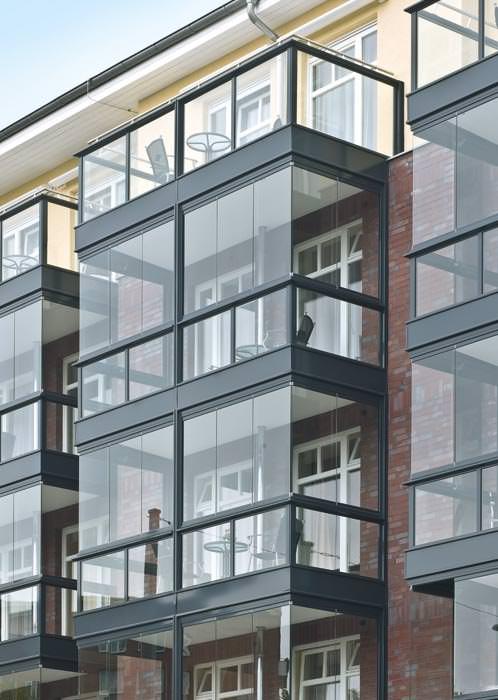 Bevorzugt Neue Variante der Solarlux-Balkonverglasung bietet mehr Transparenz LB54