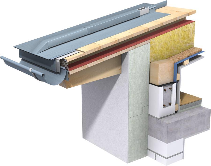 neue planungs anwendungsbrosch re zum rheinzink klick leistensystem. Black Bedroom Furniture Sets. Home Design Ideas