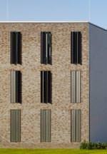 Das Unterkunftsgebäude für den offenen Vollzug der JVA in Berlin-