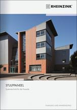 """Rheinzink-Dokumentation """"Planung und Anwendung, Stulppaneelsystem"""""""