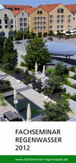 Programm Fachseminar Regenwasser 2012