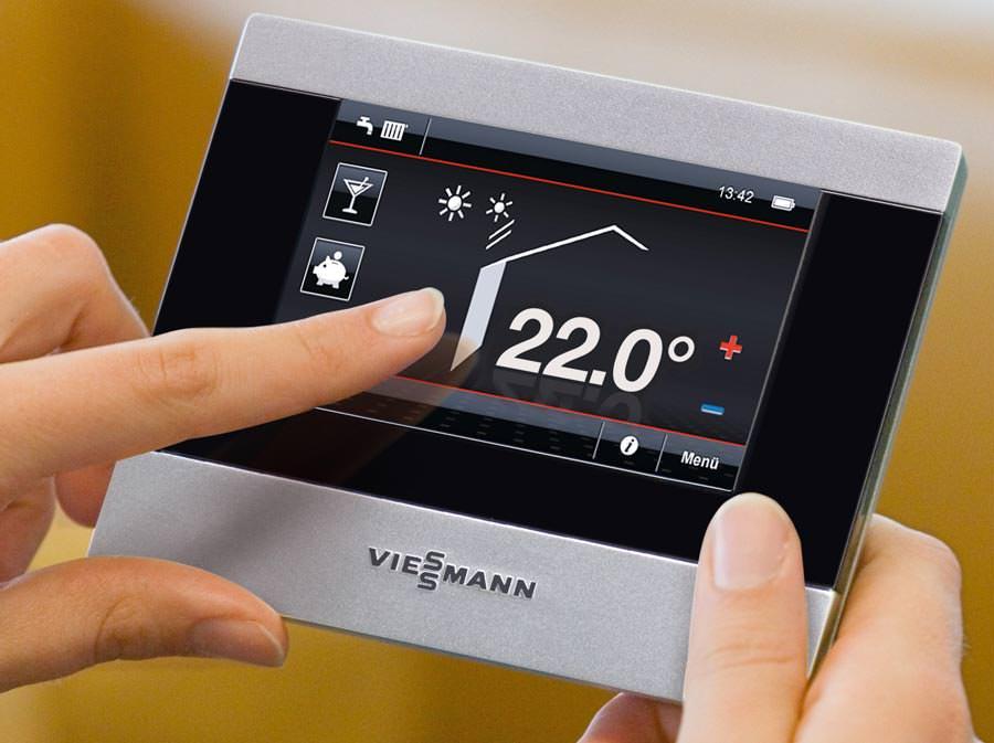 ios app und neue funk fernbedienungen zur heizungssteuerung von viessmann mit vitotrol app. Black Bedroom Furniture Sets. Home Design Ideas