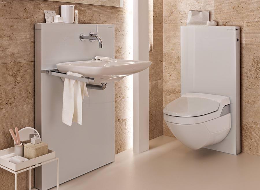 neues monolith installationselement waschtischmodul und badm bel in einem. Black Bedroom Furniture Sets. Home Design Ideas