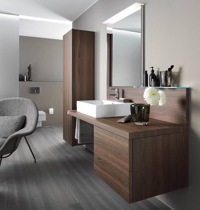 duravit bringt mit delos wohnlichkeit ins badezimmer, Badezimmer