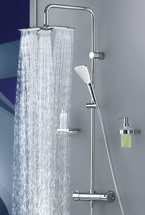 Kludi duschpaneel