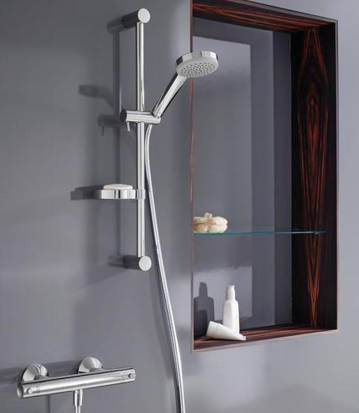 neuer thermostat von hansa in einem universellen design. Black Bedroom Furniture Sets. Home Design Ideas