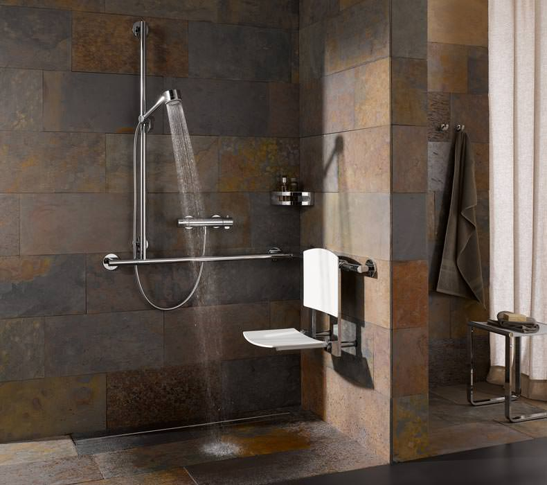 Mobile Dusche Behindertengerecht : m?bliert die Dusche – stilvoll sowie DIN- und behindertengerecht