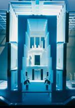 Wettbewerbsbeitrag Neues Museum, Berlin, Modell 1994, Architekten: Axel Schultes und Charlotte Frank, Berlin