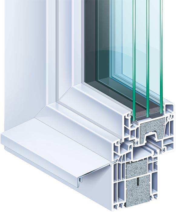 k mmerling stellt 6 kammern fenstersystem invitra gem minergie standard vor. Black Bedroom Furniture Sets. Home Design Ideas