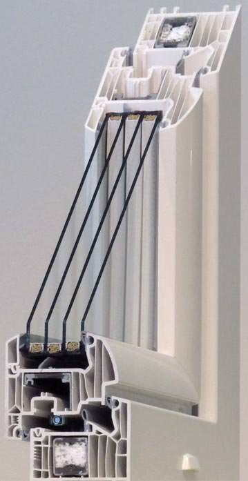konzept fenster setzt auf gewichtsreduzierte drei und vierfach isolierverglasung. Black Bedroom Furniture Sets. Home Design Ideas