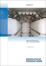 Lagerung und Dosierung von Beton- und Mörtelzusatzmitteln