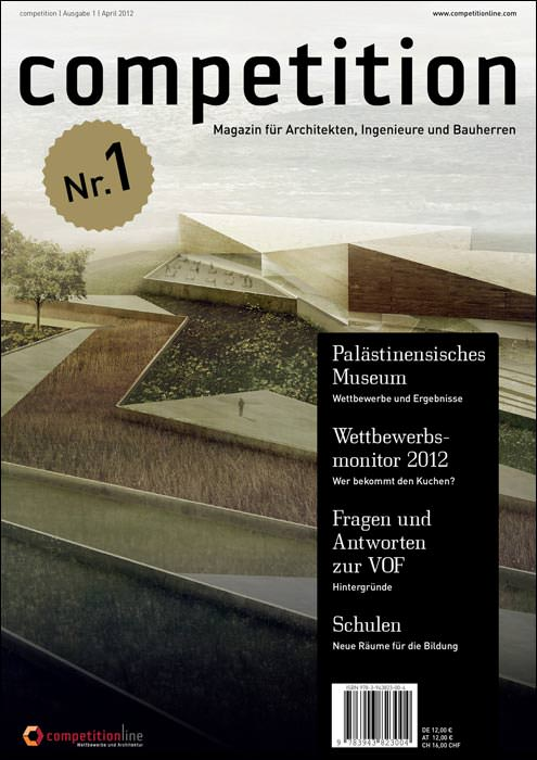 Competition neues print magazin f r architekten for Architektur magazin