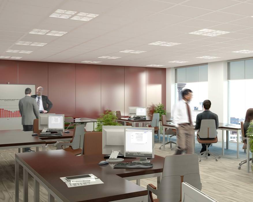 Philips-Lichtlösungen der Generation 2012 für Büroarbeitsplätze