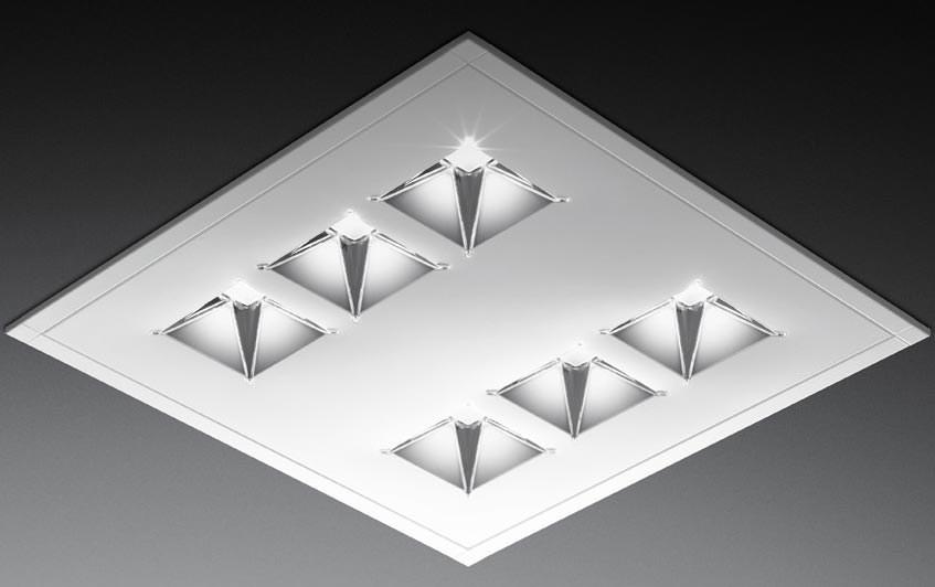 led lichtsterne dank trilux aurista auch als ersatz f r alte t5 t8 rasterleuchten. Black Bedroom Furniture Sets. Home Design Ideas