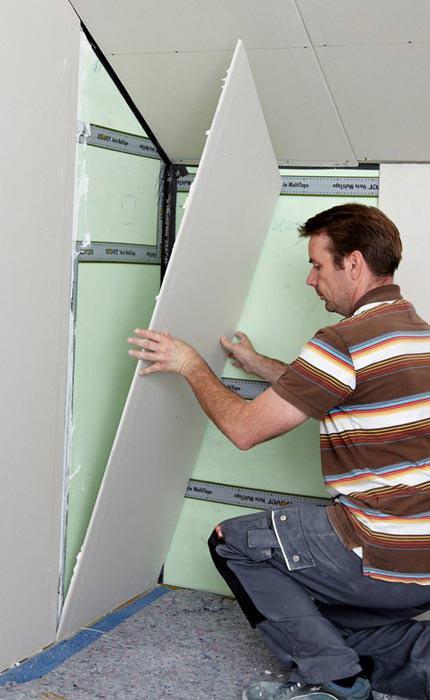 nachgewiesener schutz vor elektrosmog im trockenbau mit. Black Bedroom Furniture Sets. Home Design Ideas