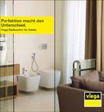 Hotelbadezimmer-Broschüre *Perfektion macht den Unterschied