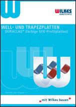"""Broschüre """"Well- und Trapezplatten- Duraclad"""""""