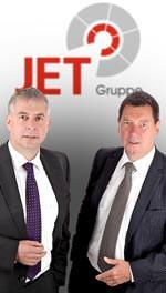 Volker Spiering, Vertriebs- und Marketingleiter (links) und Geert Kessels, Geschäftsführer der JET-Gruppe
