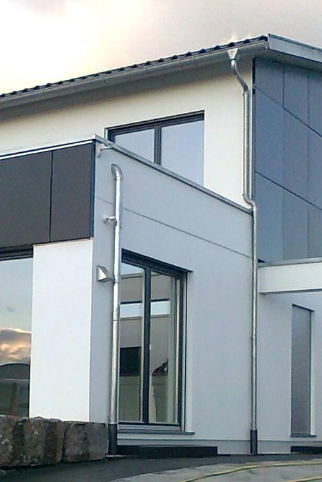hinterl ftete solarthermie fassade f r das energie plus. Black Bedroom Furniture Sets. Home Design Ideas
