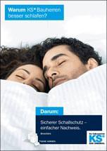 """Broschüre """"Sicherer Schallschutz- einfacher Nachweis."""""""