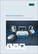 """""""Sanicontrol""""-Broschüre über elektronische Spülsysteme für Bad und WC"""