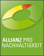 """Logo der """"Allianz pro Nachhaltigkeit"""""""