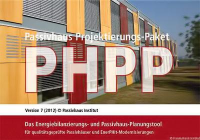 Passivhaus Projektierungs-Paket PHPP 7 (2012)