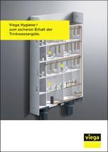 """Broschüre """"Viega Hygiene+ zum sicheren Erhalt der Trinkwassergüte"""""""