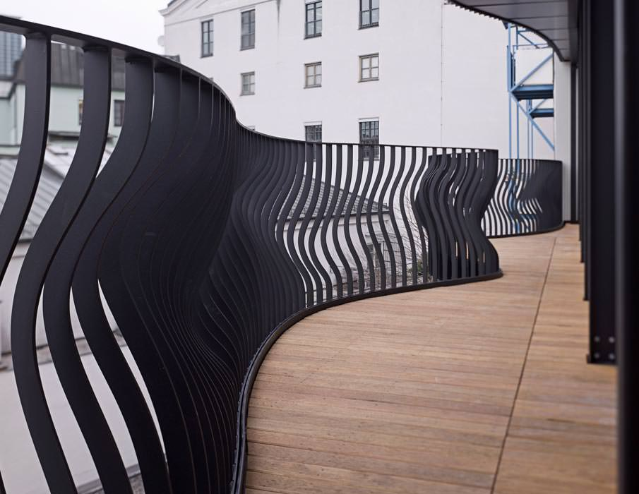CNC-geschnittene Zäune und Geländer passend zur aktuellen Blob ...
