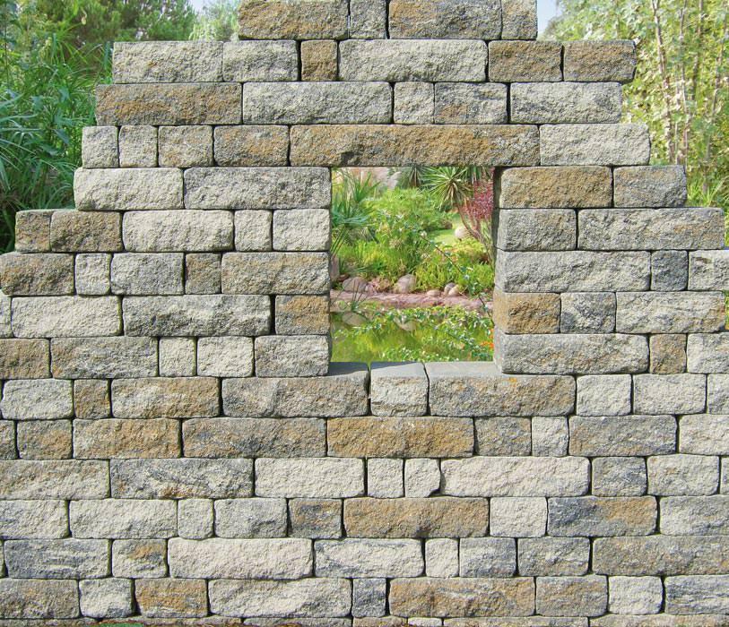 steine fur gartenmauer – rekem, Garten Ideen