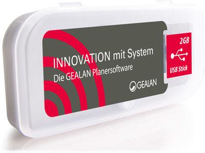 USB-Stick mit Planersoftware von Gealan