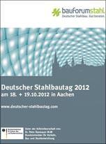 Deutscher Stahlbautag 2012 in Aachen